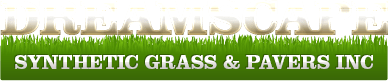 Dreamscape Synthetic Grass & Pavers